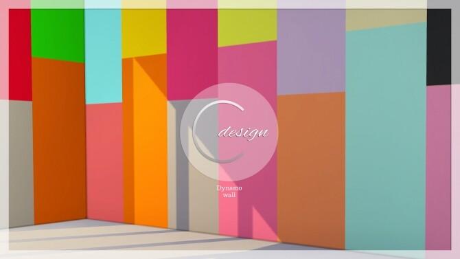 Sims 4 Dynamo Wall at Cross Design