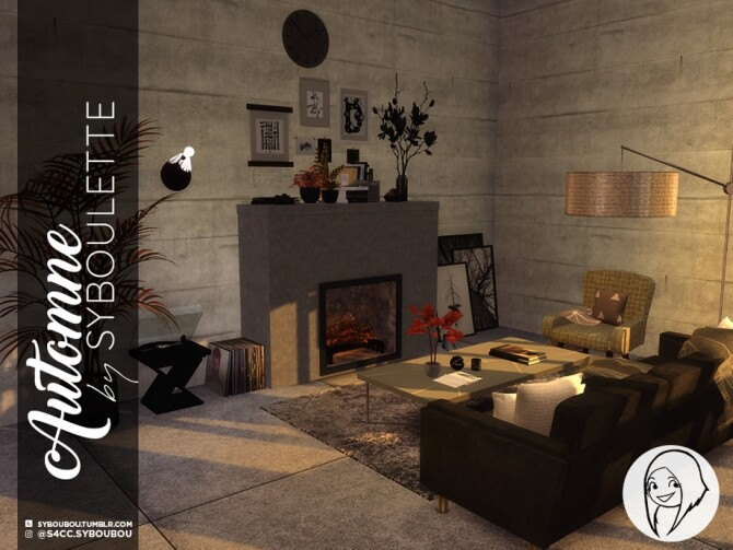 Autumn set by Syboubou at TSR image 10611 670x503 Sims 4 Updates