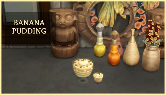 Sims 4 BANANA PUDDING at Icemunmun