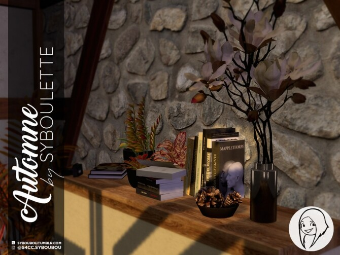 Sims 4 Autumn set by Syboubou at TSR