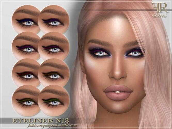 FRS Eyeliner N13 by FashionRoyaltySims