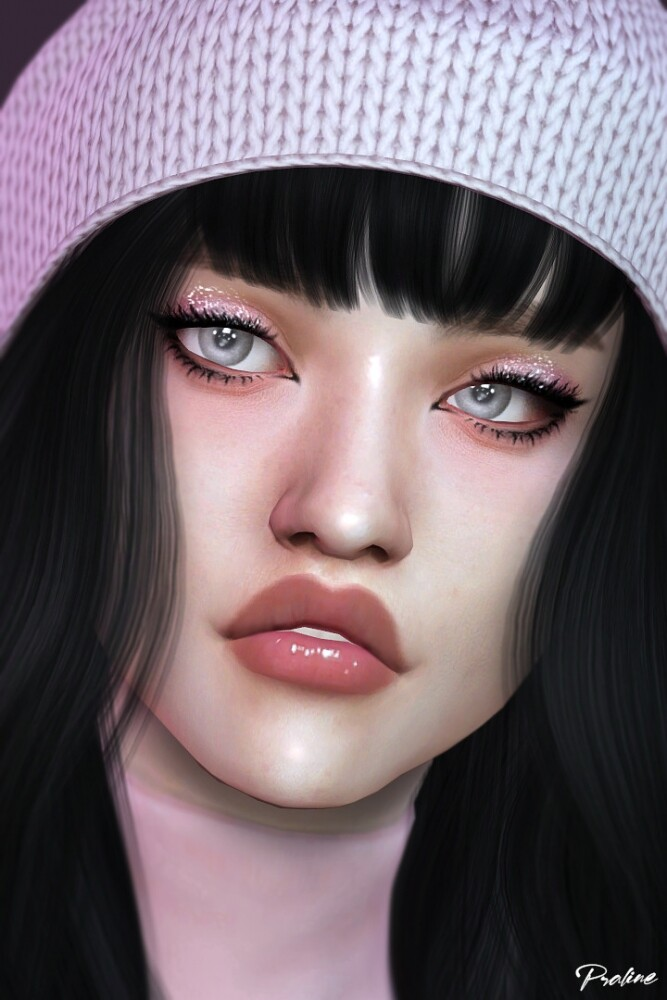 Sims 4 K STYLE Eye Makeup Kit at Praline Sims