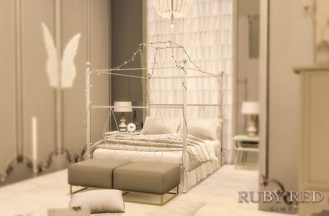 Sims 4 Neoclassical Apartment at Ruby's Home Design