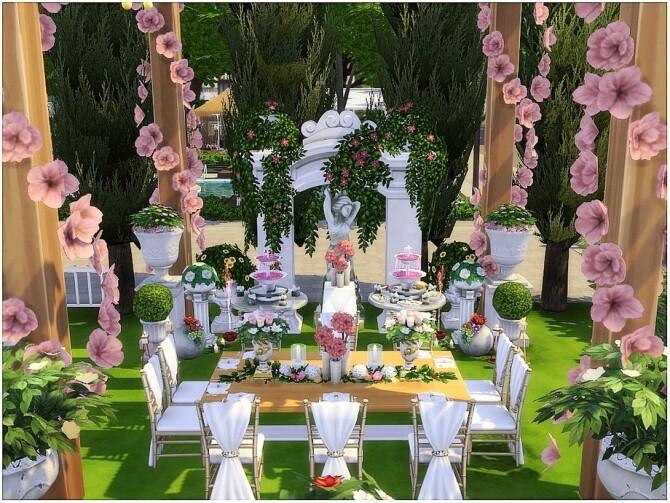 Cherry Wedding by lotsbymanal at TSR image 11106 670x503 Sims 4 Updates
