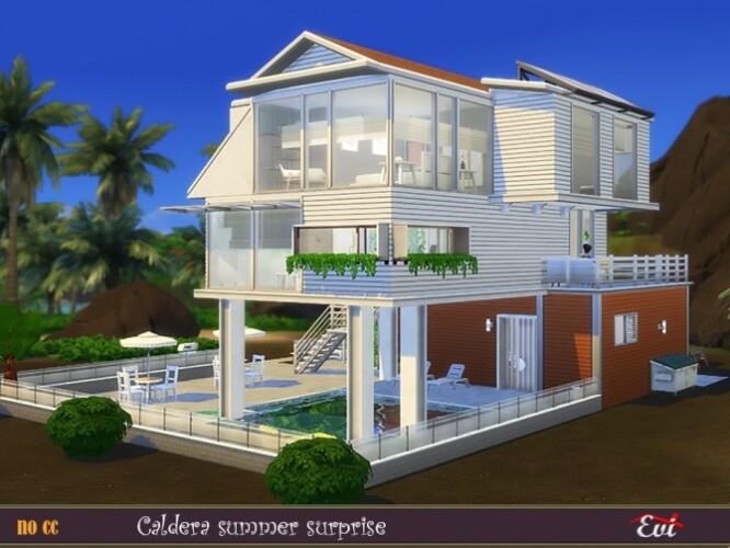 Caldera summer surprise house by evi