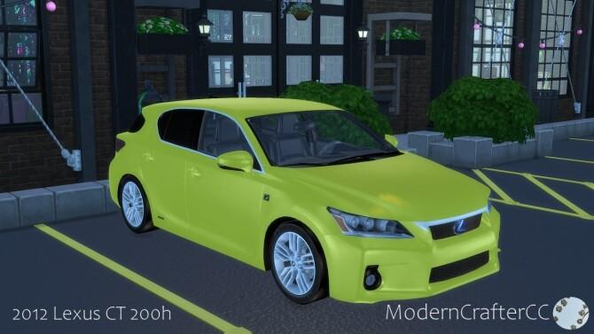 2012 Lexus CT 200h at Modern Crafter CC image 11217 670x377 Sims 4 Updates