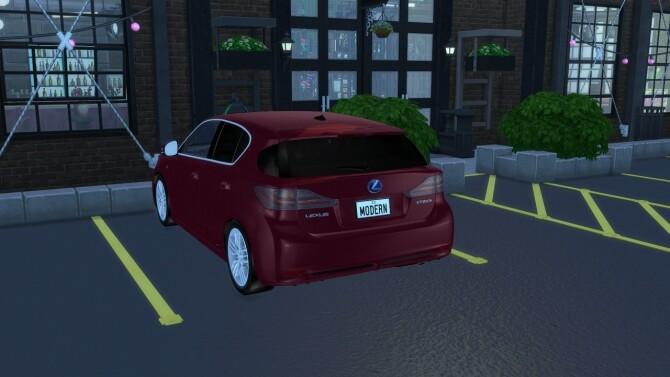 2012 Lexus CT 200h at Modern Crafter CC image 11315 670x377 Sims 4 Updates