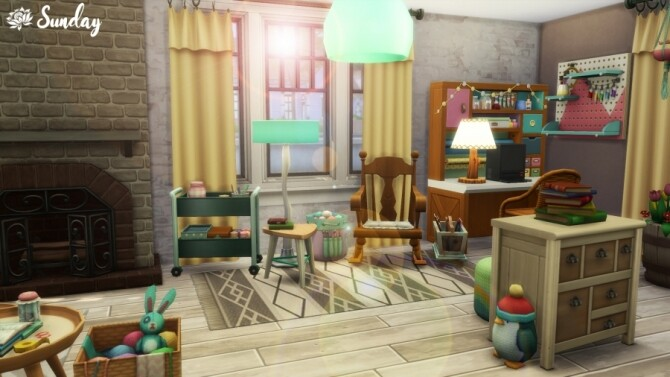 Sims 4 Mamie Tricots workshop by SundaySims at Sims Artists