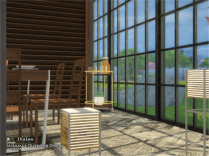Miramar Outdoor Dining by ArtVitalex at TSR image 11517 670x503 Sims 4 Updates