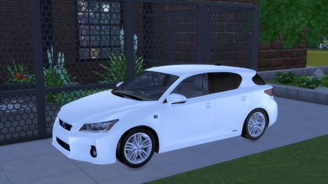 2012 Lexus CT 200h at Modern Crafter CC image 11612 670x377 Sims 4 Updates
