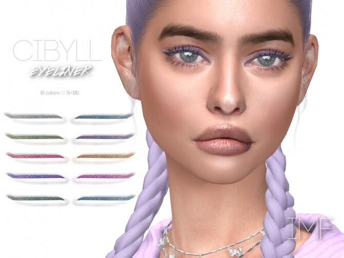 Sims 4 IMF Cibyll Eyeliner N.106 by IzzieMcFire at TSR