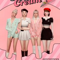 ICECREAM JENNIEs OUTFIT