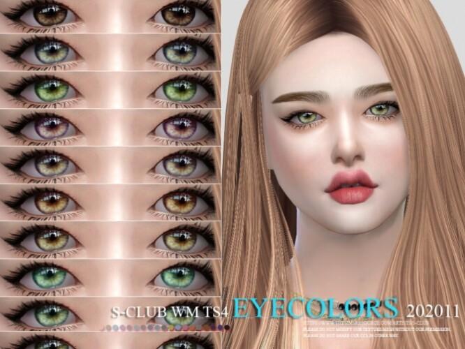 Eyecolors 202011 by S-Club WM