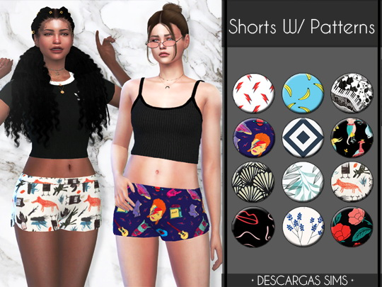 Shorts With Patterns