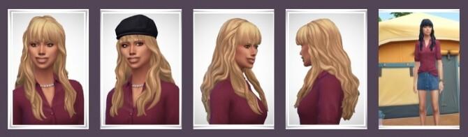 Sims 4 Jenny Hair at Birksches Sims Blog