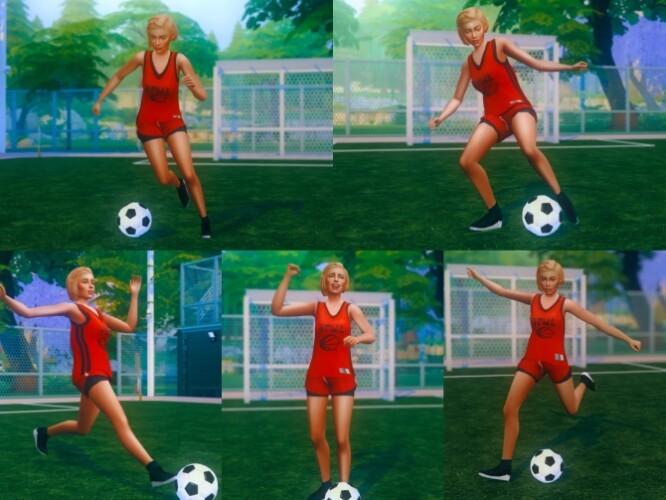 Soccer Pose Pack