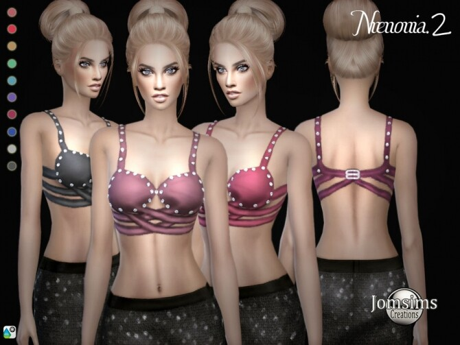 Sims 4 Nrenonia top 2 by jomsims at TSR