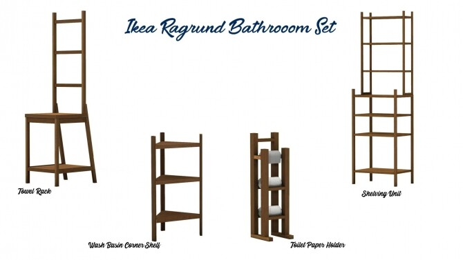 Ragrund Bathroom Set