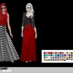 BASIC MAXI SKIRT by SSTS