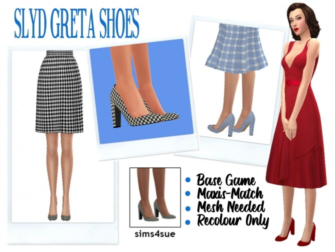 SLYD'S GRETA SHOES at Sims4Sue image 1237 670x503 Sims 4 Updates