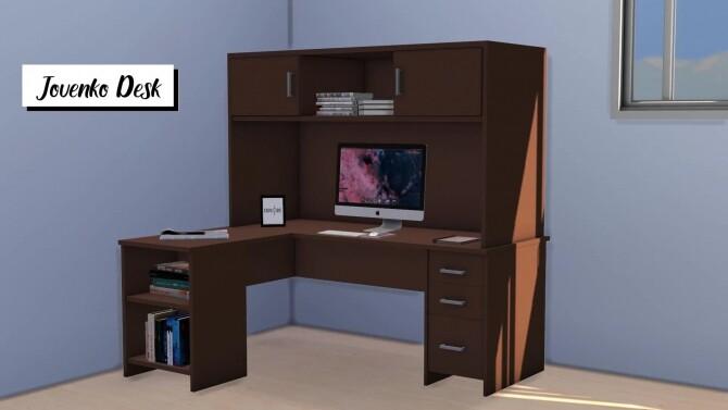 Sims 4 Jovenko Desk at Sunkissedlilacs