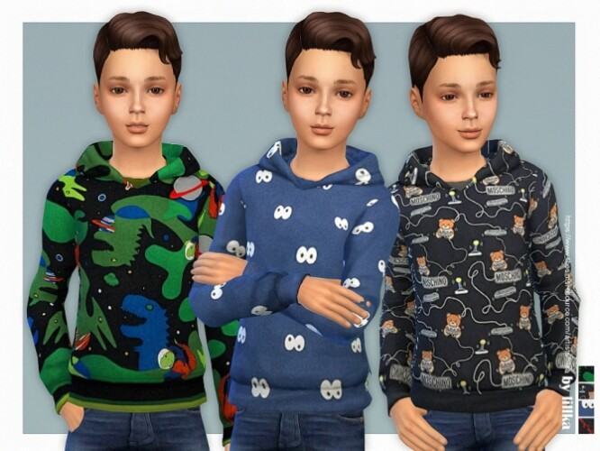 Hoodie for Boys P21 by lillka