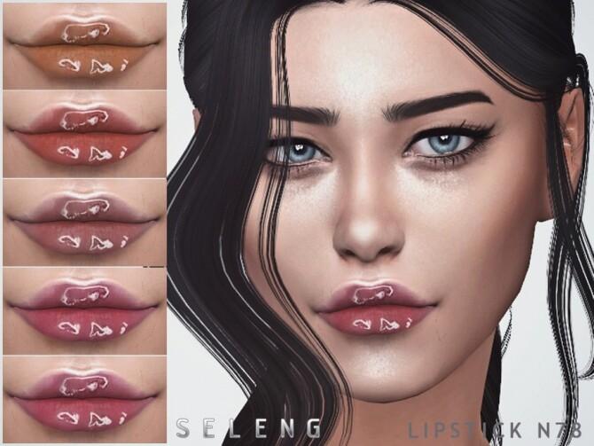 Sims 4 Lipstick N78 by Seleng at TSR