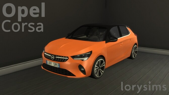 Sims 4 Opel Corsa at LorySims