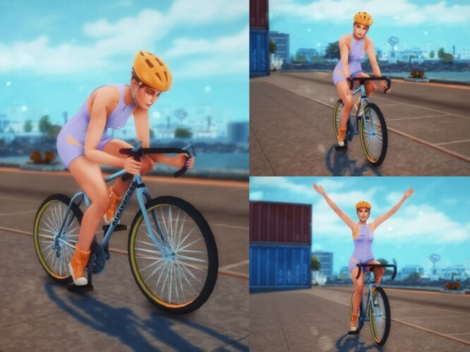 Cycling Pose Pack