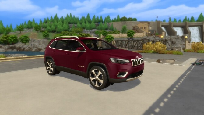 Jeep Cherokee at LorySims image 12714 670x377 Sims 4 Updates