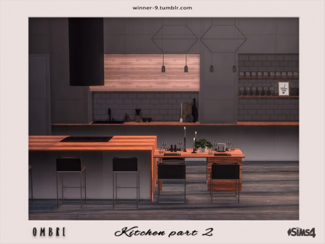 Ombre Kitchen part 2 by Winner9