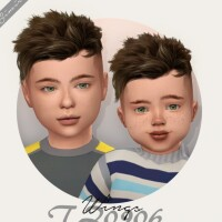 Wings TZ0906 hair for kids and toddlers