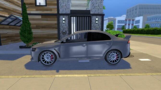2011 Mitsubishi Lancer Evolution X at Modern Crafter CC image 1276 670x377 Sims 4 Updates