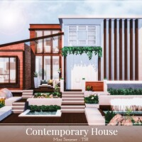Contemporary House by Mini Simmer