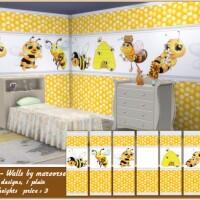 Honeybee Walls by marcorse