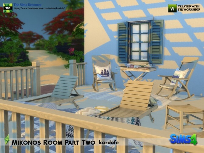 Mikonos Room Part Two by kardofe at TSR image 1285 670x503 Sims 4 Updates