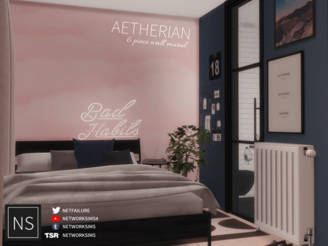 Aetherian Wall Mural by Networksims