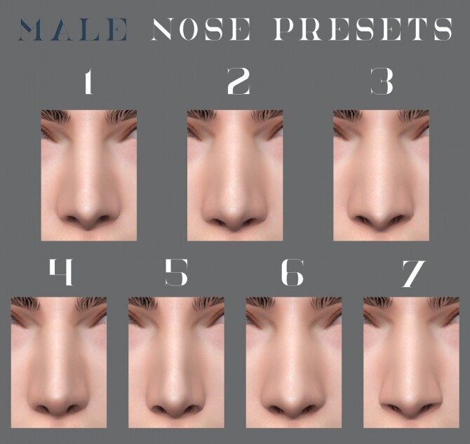 F&M Face Сollection at Northern Siberia Winds image 12910 670x633 Sims 4 Updates