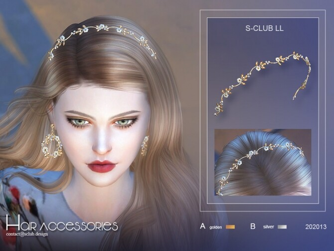 Fairy hair accessories 202013 by S Club LL at TSR image 13018 670x503 Sims 4 Updates