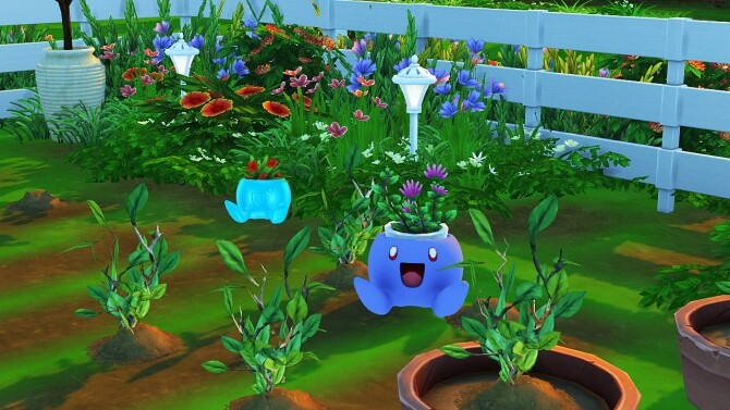 BULBASAUR + ODDISH PLANTER by Thiago Mitchell at REDHEADSIMS image 1303 670x377 Sims 4 Updates