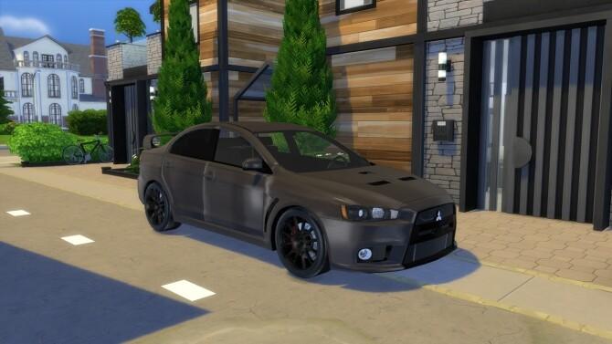 2011 Mitsubishi Lancer Evolution X at Modern Crafter CC image 1306 670x377 Sims 4 Updates