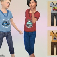 Boys Outfit Cars by Pelineldis