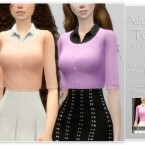 Audrey Top by Dissia