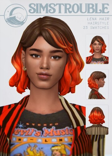 LENA HAIR by simstrouble