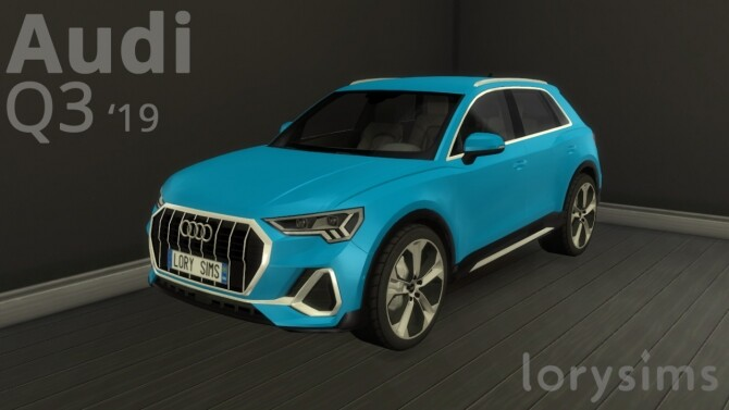Audi Q3 2019 at LorySims image 1336 670x377 Sims 4 Updates