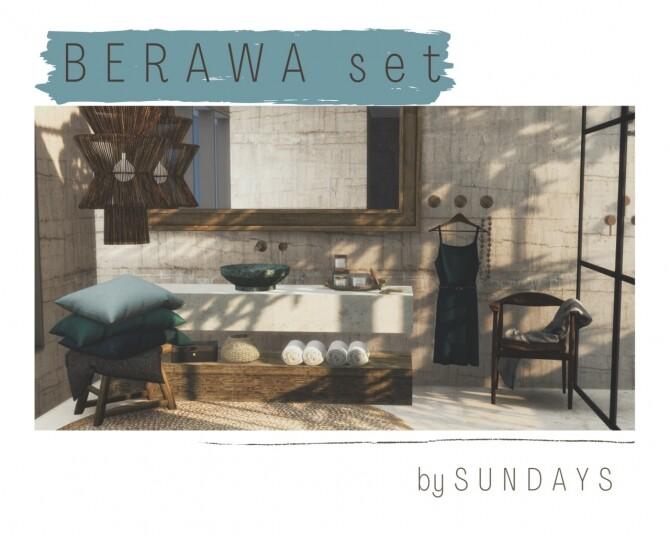 Sims 4 Berawa set at Sundays Sims