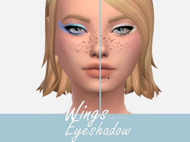 Wings Eyeshadow by Sagittariah