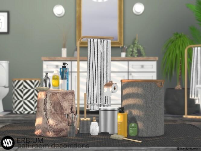 Erbium Bathroom Decorations by wondymoon