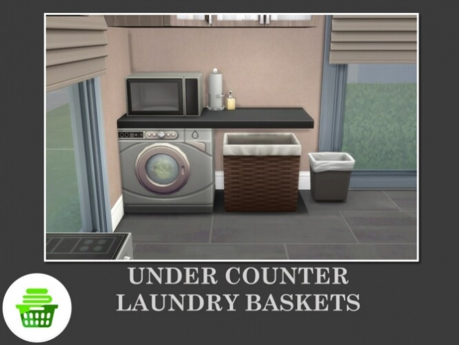 Under Counter Laundry Baskets by Teknikah