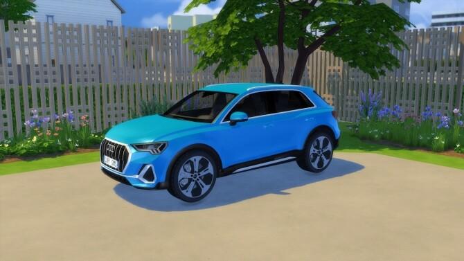 Sims 4 Audi Q3 2019 at LorySims
